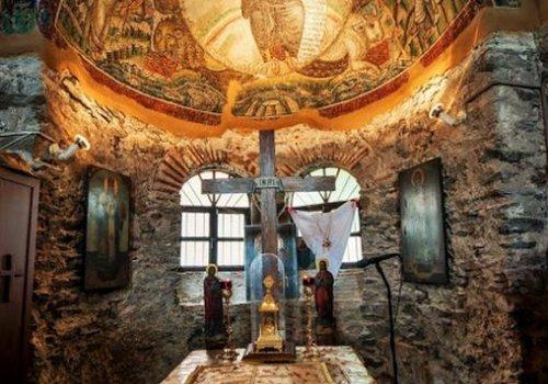 Ιερός Ναός Οσίου Δαβίδ (Μονή Λατόμου)